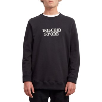 Volcom New Black Supply Stone Black Sweatshirt