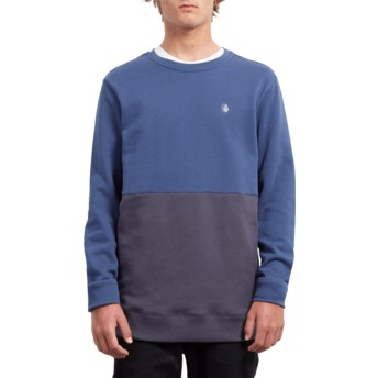 Volcom Matured Blue Single Stone Division Blue Sweatshirt