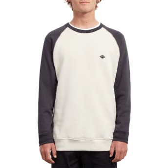Volcom Black Homak Black and White Sweatshirt