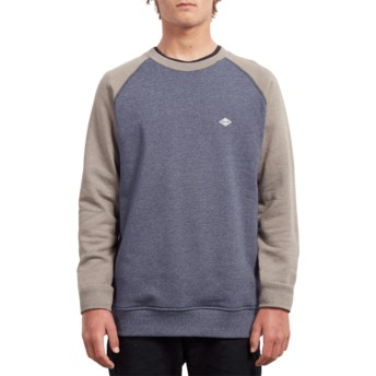 Volcom Mushroom Homak Grey and Blue Sweatshirt