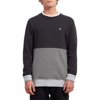 Volcom Black Threezy Black Sweatshirt