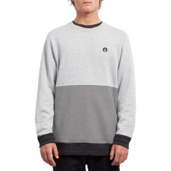 Volcom Grey Threezy Grey Sweatshirt