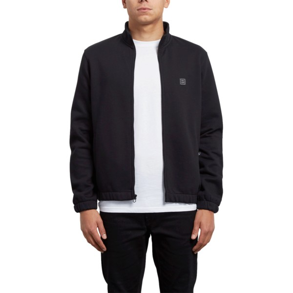 volcom-black-hutson-black-zip-through-sweatshirt