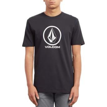 Volcom Black Crisp Stone Black T-Shirt