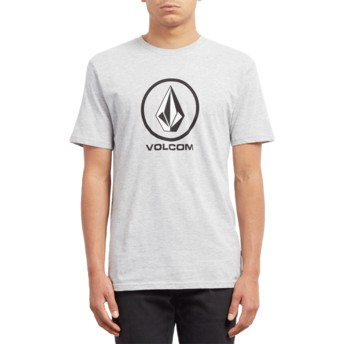 Volcom Heather Grey Crisp Stone Grey T-Shirt