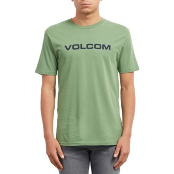 Volcom Dark Kelly Crisp Euro Green T-Shirt