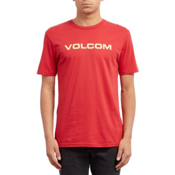 Volcom Engine Red Crisp Euro Red T-Shirt