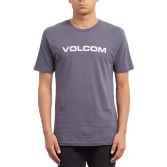 Volcom Midnight Blue Crisp Euro Navy Blue T-Shirt