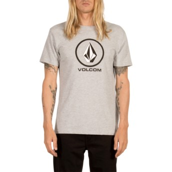 Volcom Heather Grey Circle Stone Grey T-Shirt