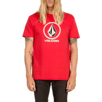 Volcom True Red Circle Stone Red T-Shirt
