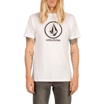 Volcom White Circle Stone White T-Shirt