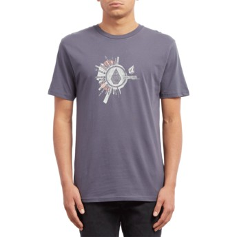 Volcom Midnight Blue Radiate Navy Blue T-Shirt
