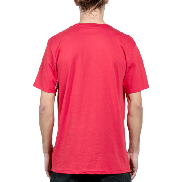 volcom-deep-red-disruption-red-t-shirt