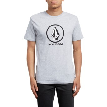 Volcom Heather Grey Crisp Grey T-Shirt