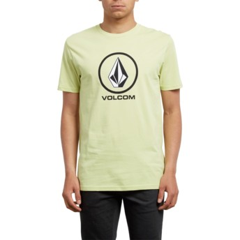 Volcom Shadow Lime Crisp Yellow T-Shirt