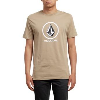 Volcom Sand Brown Crisp Brown T-Shirt