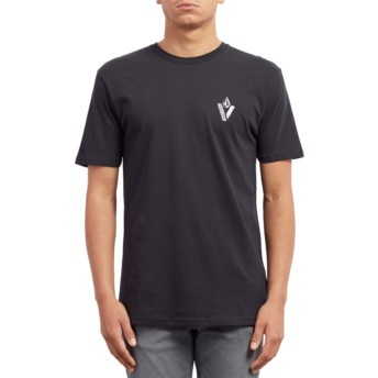Volcom Black Cut Out Black T-Shirt