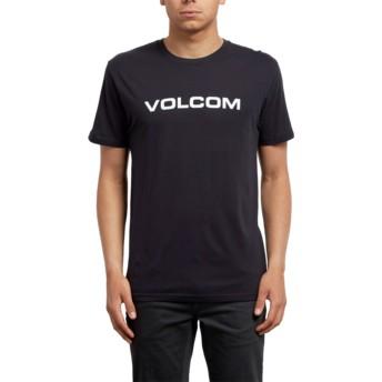 Volcom Black Crisp Euro Black T-Shirt