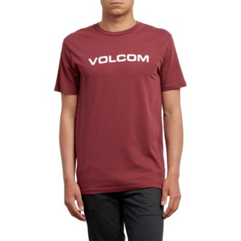 Volcom Crimson Crisp Euro Red T-Shirt