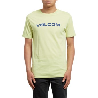 Volcom Shadow Lime Crisp Euro Yellow T-Shirt