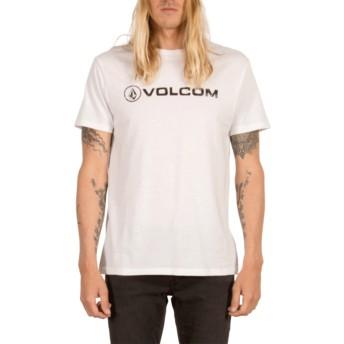 Volcom White Line Euro White T-Shirt