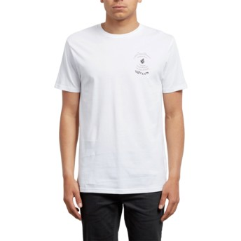 Volcom White Comes Around White T-Shirt