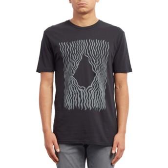Volcom Black Wiggly Black T-Shirt