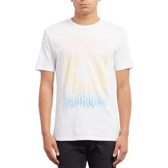 Volcom White Wiggly White T-Shirt