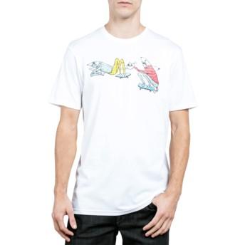 Volcom White Pangea See White T-Shirt