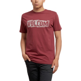 Volcom Crimson Edge Red T-Shirt