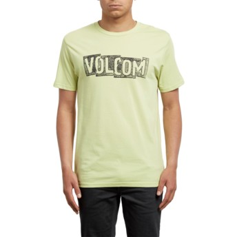 Volcom Shadow Lime Edge Yellow T-Shirt