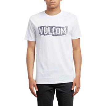 Volcom White Edge White T-Shirt