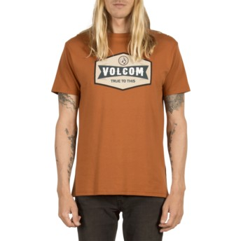 Volcom Copper Budy Brown T-Shirt