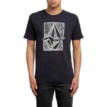 Volcom Black Rip Stone Black T-Shirt