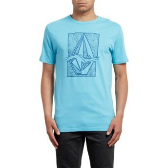 Volcom Blue Bird Rip Stone Blue T-Shirt