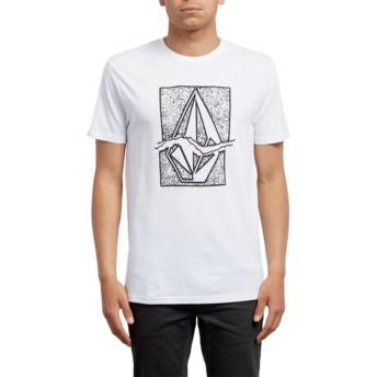 Volcom White Rip Stone White T-Shirt