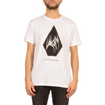 Volcom White Carving Block White T-Shirt
