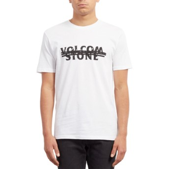 Volcom White Big Mistake White T-Shirt