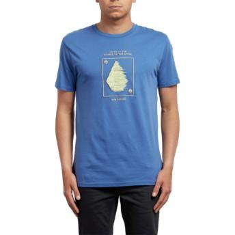 Volcom Blue Drift Sound Blue T-Shirt