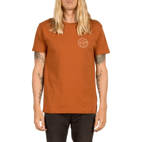 volcom-copper-on-lock-brown-t-shirt