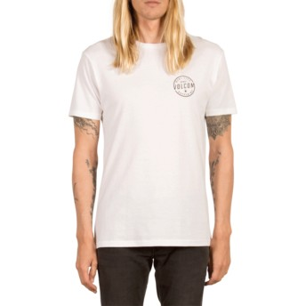 Volcom White On Lock White T-Shirt
