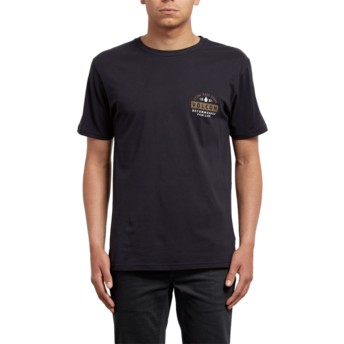 Volcom Black Barred Black T-Shirt