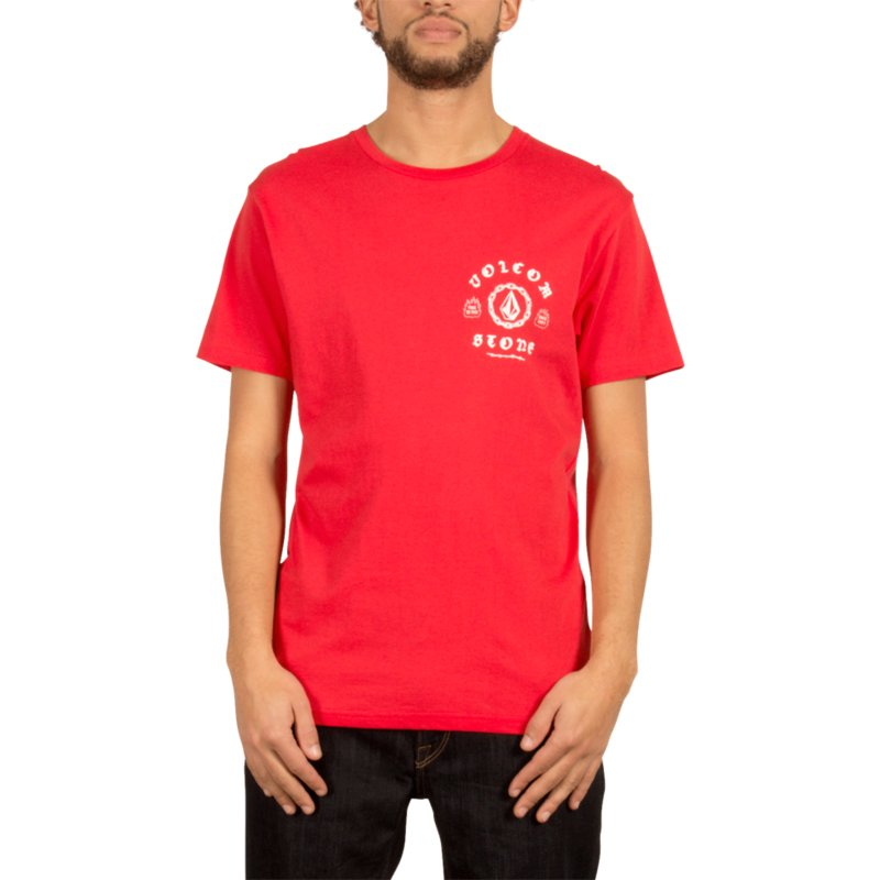volcom-true-red-chain-gang-red-t-shirt