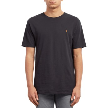 Volcom Black Stone Blank Black T-Shirt