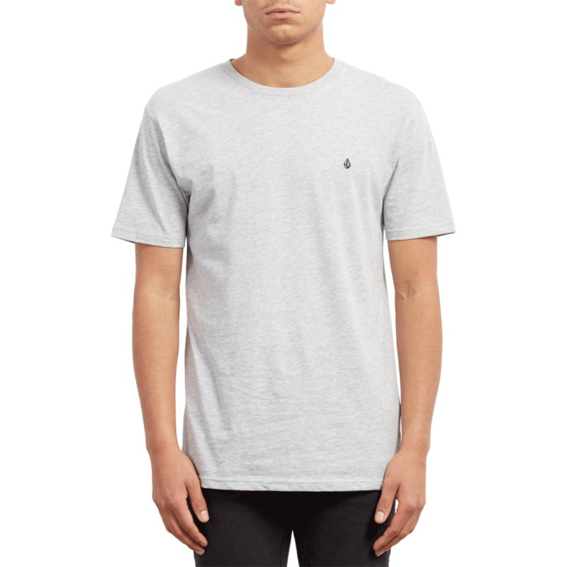 volcom-heather-grey-stone-blank-grey-t-shirt