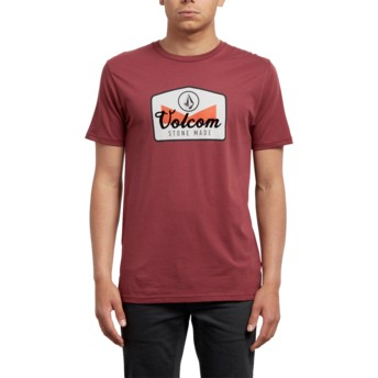Volcom Crimson Cristicle Red T-Shirt