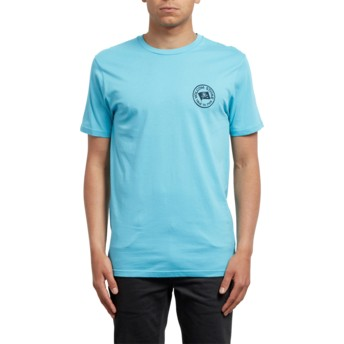 Volcom Blue Bird Flag Blue T-Shirt
