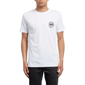 Volcom White Flag White T-Shirt
