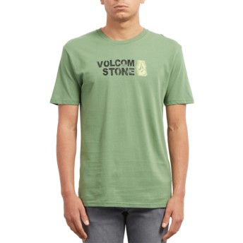 Volcom Dark Kelly Stence Green T-Shirt