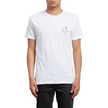 Volcom White Fridazed White T-Shirt
